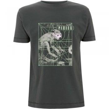 Rock Off Pixies Monkey Grid Charcoal