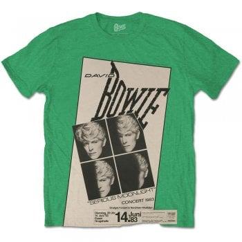 Rock Off Bowie Concert 83 Green