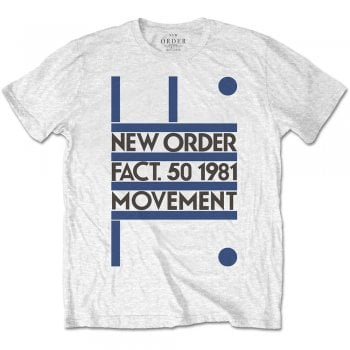 Rock Off Movement New Order White
