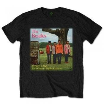 Rock Off Beatles Strawberry Fields Forever Black