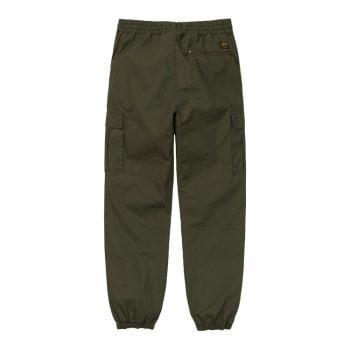Carhartt Wip Cargo Jogger in Cypress Rinsed ripstop cotton