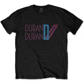 Rock Off Duranduran Double D Logo Black