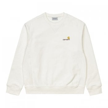 Carhartt Wip American Script Sweat in Wax