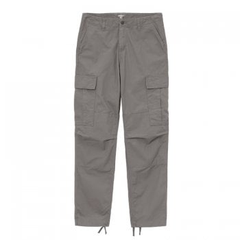 Carhartt Wip Regular Cargo Pant in Air Force Grey 6 oz Columbia Ripstop fabric
