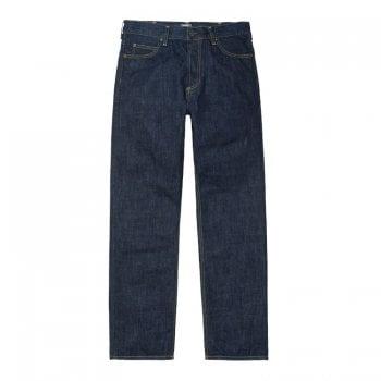 Carhartt Wip Marlow Pant jeans in Blue Rinsed 12 oz Edgewood denim