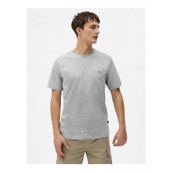 Dickies Mapleton T Shirt in Grey Melange