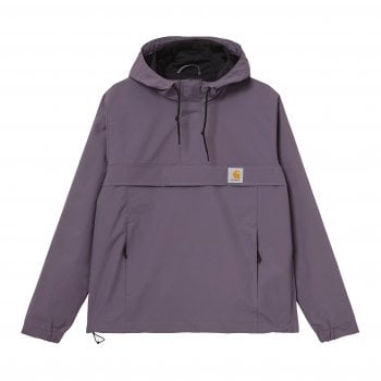 Carhartt Wip Nimbus Pullover in Provence water repellent Teflon coated fabric