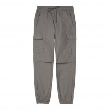 Carhartt Wip Cargo Joggers Air Force Grey Rinsed 6.5 oz Columbia ripstop cotton