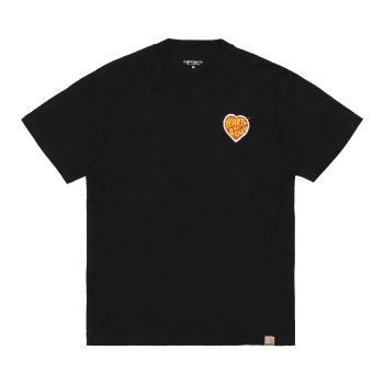 Carhartt Wip short sleeved Hartt Of Soul T Shirt in Black