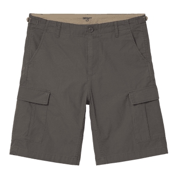 Carhartt Wip Aviation Shorts in Air Force Grey 6.5 oz Columbia ripstop cotton