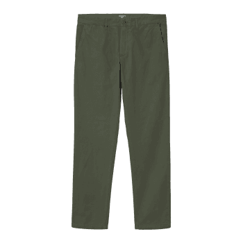 Carhartt Wip Johnson Pants in Dollar Green 7oz 100% cotton Midvale twill