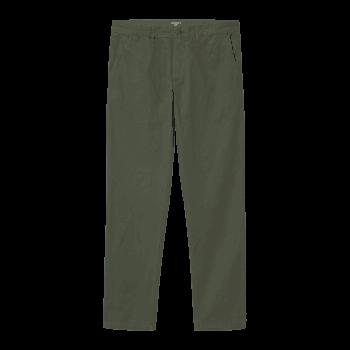 Carhartt Wip Johnson Pants in Dollar Green 7oz 100% cotton Midvale twill