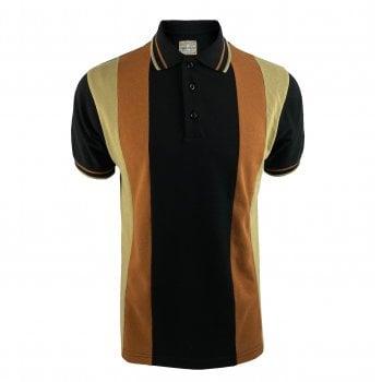 Ska & Soul Cut & Sew Stripe Pique Polo