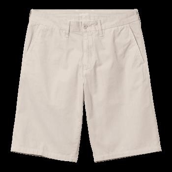 Carhartt Wip Johnson Shorts in Glaze 7oz Midvale cotton twill
