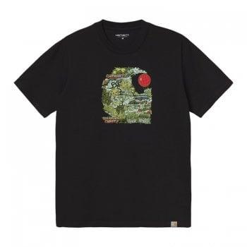 Carhartt Wip short sleeved Treasure C T Shirt in Black