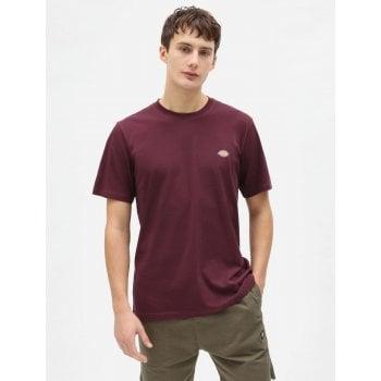 Dickies Mapleton T Shirt Maroon