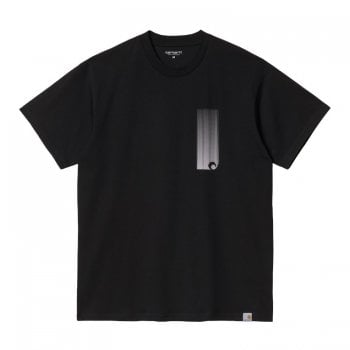 Carhartt Wip short sleeved Discover T Shirt in Black