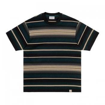 Carhartt Wip short sleeved Tuscon T Shirt in Frasier green