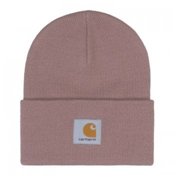 Carhartt Wip Acrylic Watch Hat in Earthy Pink