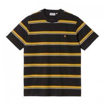 Carhartt Wip short sleeved Kent T Shirt in Black