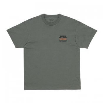 Carhartt Wip short sleeved Goods T Shirt in Thyme green