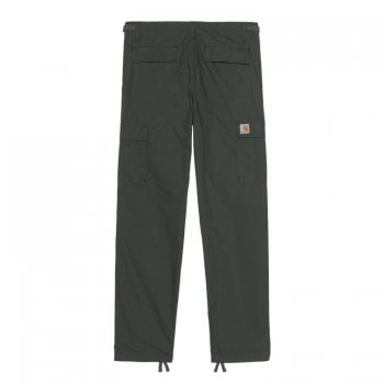 Carhartt Wip Aviation Pant in Slate grey Rinsed 6.5 oz Columbia ripstop cotton