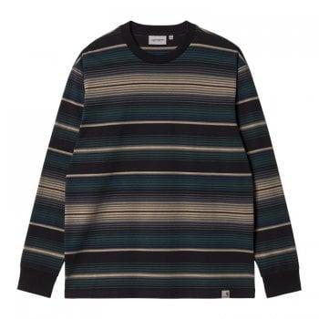 Carhartt Wip long sleeved Tuscon T Shirt in Frasier Green