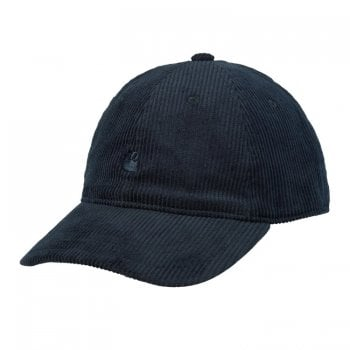 Carhartt Wip Harlem Cap in Astro with Astro coloured embroidered Carhartt C Logo