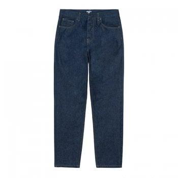 Carhartt Wip Newel Pant in Blue One Wash organic 13.5 oz Maitland denim