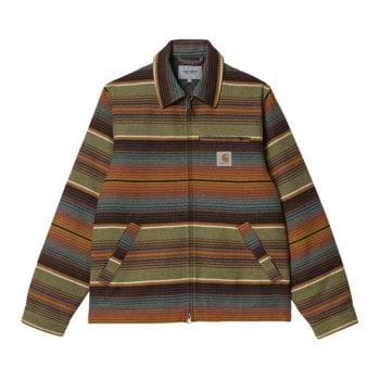Carhartt Wip Detroit Tuscon Jacket in Tuscon Stripe