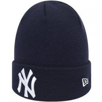 New Era Mlb Essen Cuff Beanie New York Yankees Navy