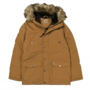 Carhartt Wip Trapper Parka in Hamilton Brown/black