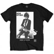Rock Off Bob Dylan Blowing In The Wind T Shirt Black