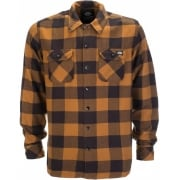 Dickies Sacramento Shirt Brown Duck
