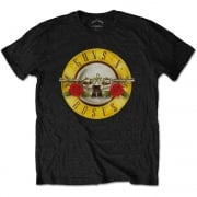 Rock Off Guns N Roses Logo Tshirt Black