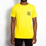Wasted Heroes Acid Party Shock Tshirt Yellow