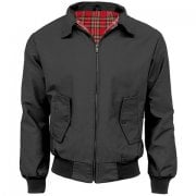 Resurrection Harrington Jacket Charcoal