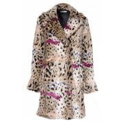 Glamorous Cheetah Fur Coat Cheetah
