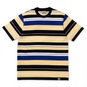 Carhartt Wip S/s Flint Tshirt Pale Yellow Stripe