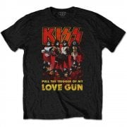 Rock Off Kiss Love Gun Glow Black