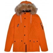 Ellesse Blizzard Parka Jacket Orange