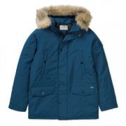 Carhartt Wip Anchorage Parka Duck Blue/black