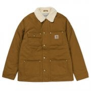 Carhartt Wip Fairmount Coat Hamilton Brown Rigid