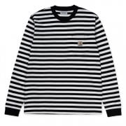 Carhartt Wip L/s Scotty Pocket Tshirt Black/wax