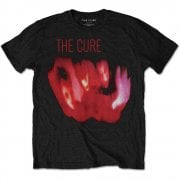Rock Off The Cure Pornography T Shirt Black