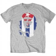 Rock Off Che Guevara Star And Stripes Grey