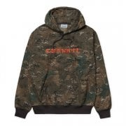 Carhartt Wip Hooded Carhartt Sweat Camo Combi/safety Orange
