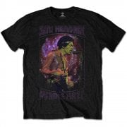 Rock Off Jimi Hendrix Purple Haze T Shirt in Black