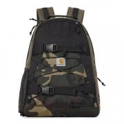 Carhartt Wip Kickflip Backpack in Multicolour green and camo