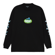 Carhartt Wip long sleeved Screw T Shirt in Black